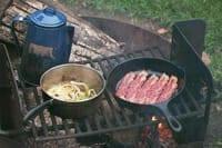 Canoe Camping breakfast